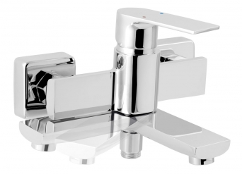 Bath and shower mixer without accessories