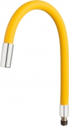 Elastic spout for 70710, chrome-yellow