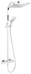 Shower set + shower thermostatic mixer 2862